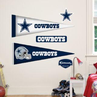 Dallas Cowboys Pennant Wall Decals by Fathead Jr.