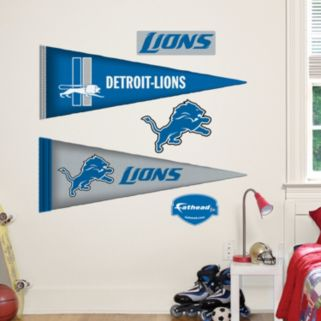 Detroit Lions Pennant Wall Decals by Fathead Jr.