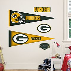 Green Bay Packers Pennant Wall Decals by Fathead Jr.