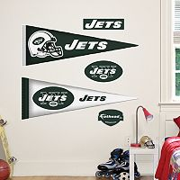 New York Jets Pennant Wall Decals by Fathead Jr.
