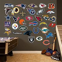 Fathead NFL Logo Collection Wall Decals