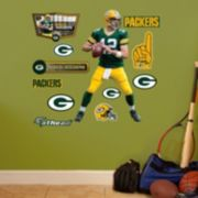 Green Bay Packers Aaron Rogers Wall Decals by Fathead Jr.