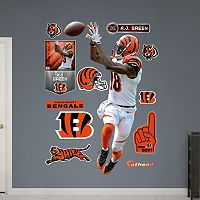Cincinnati Bengals A.J. Green Wide Receiver Wall Decals by Fathead