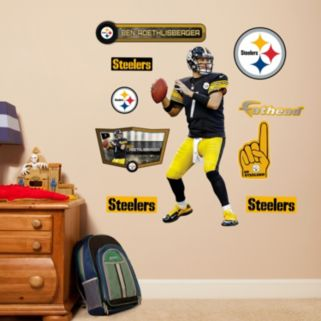 Pittsburgh Steelers Ben Roethlisberger Wall Decals by Fathead Jr.
