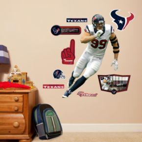 Houston Texans J.J. Watt Wall Decals by Fathead Jr.