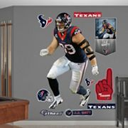 Houston Texans J.J. Watt Sack Master Wall Decals by Fathead
