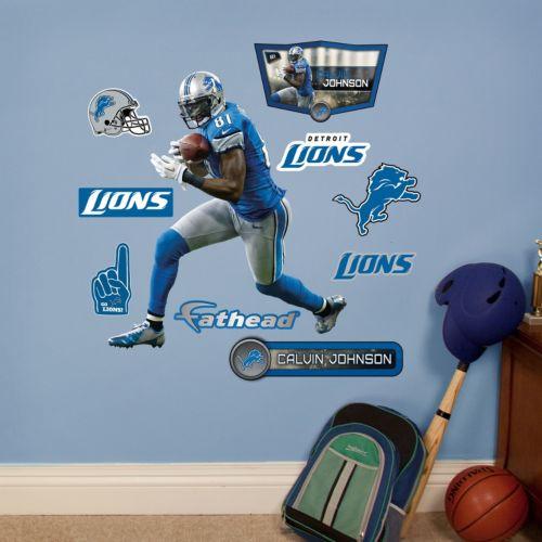 Detroit Lions Calvin Johnson Wall Decals by Fathead Jr.