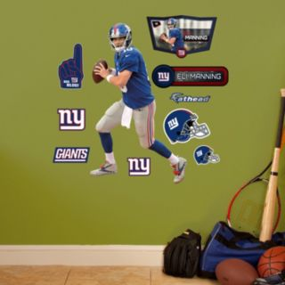 New York Giants Eli Manning Wall Decals by Fathead Jr.