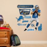Detroit Lions Matthew Stafford Wall Decals by Fathead Jr.