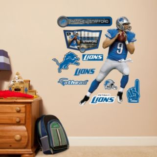 Detroit Lions Matthew Stafford Wall Decals by Fathead Jr.