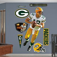 Green Bay Packers Aaron Rogers Away Wall Decals by Fathead