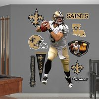 New Orleans Saints Drew Brees Away Wall Decals by Fathead