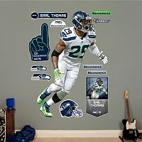 Seattle Seahawks Earl Thomas Wall Decals by Fathead