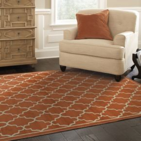 StyleHaven Emma Geometric Lattice Rug