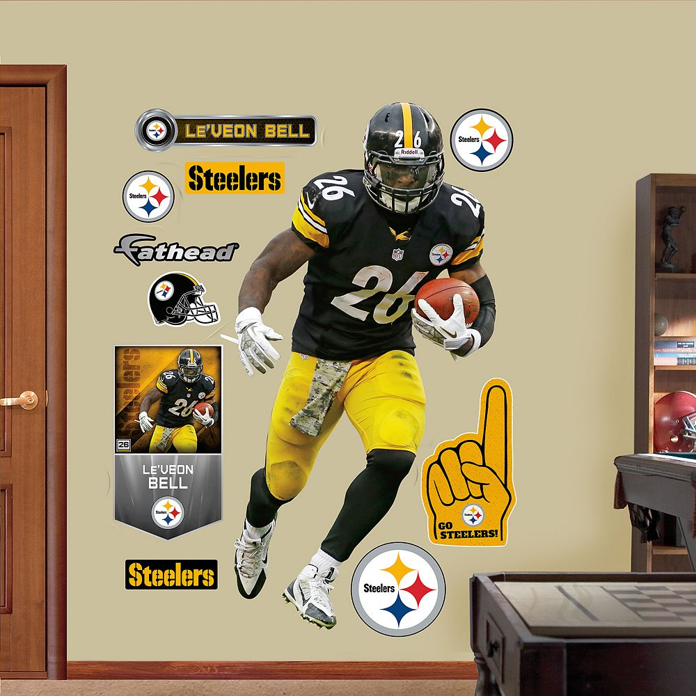 Steelers Le\'Veon Bell Wall Decals by Fathead