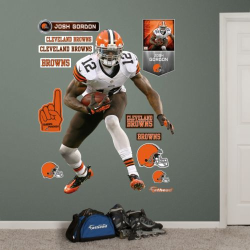 Cleveland Browns Josh Gordon Wall Decals by Fathead