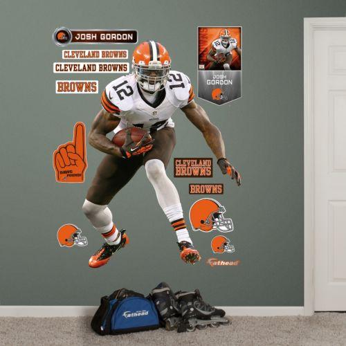 Cleveland Browns Josh Gordon Wall Decals by Fathead