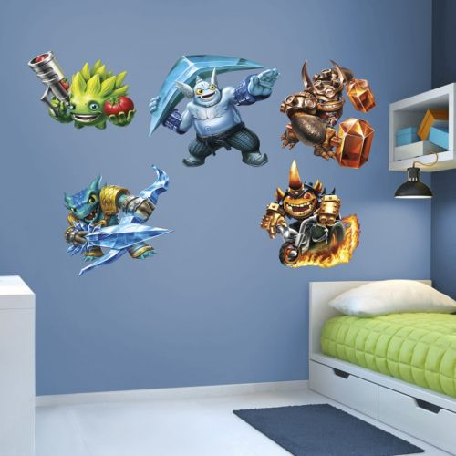 Skylanders Trap Team Collection Wall Decals by Fathead