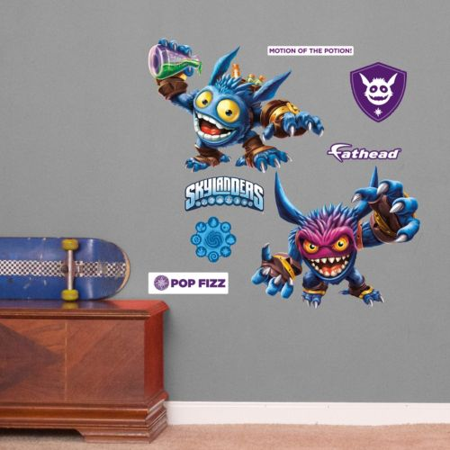 Skylanders Pop Fizz Wall Decals by Fathead Jr.