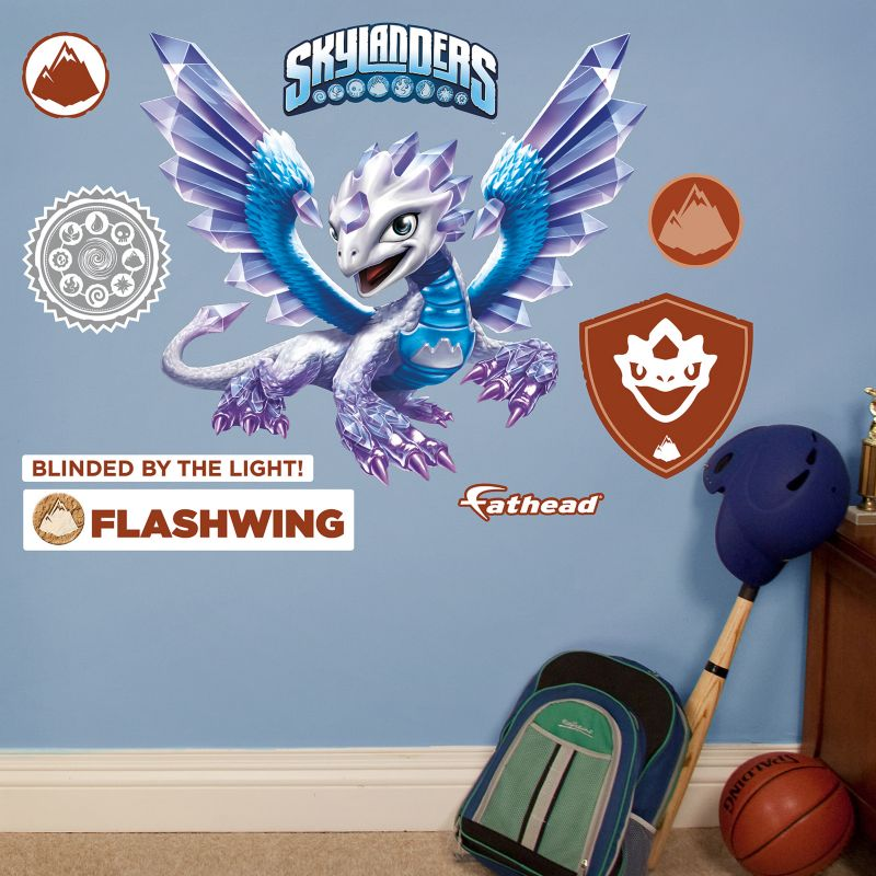 Skylanders Flashwing Wall Decals by Fathead Jr. 98831807