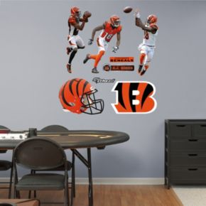 Cincinnati Bengals A.J. Green Hero Pack Wall Decals by Fathead