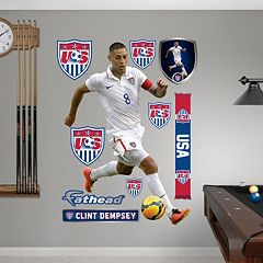 Team USA Clint Dempsey Soccer Wall Decals by Fathead