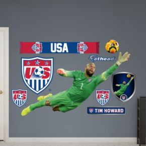 Team USA Tim Howard Soccer Wall Decals by Fathead