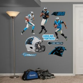 Carolina Panthers Cam Newton Hero Pack Wall Decals by Fathead