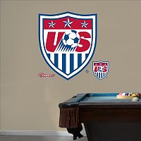 Team USA Soccer Crest Wall Decals by Fathead