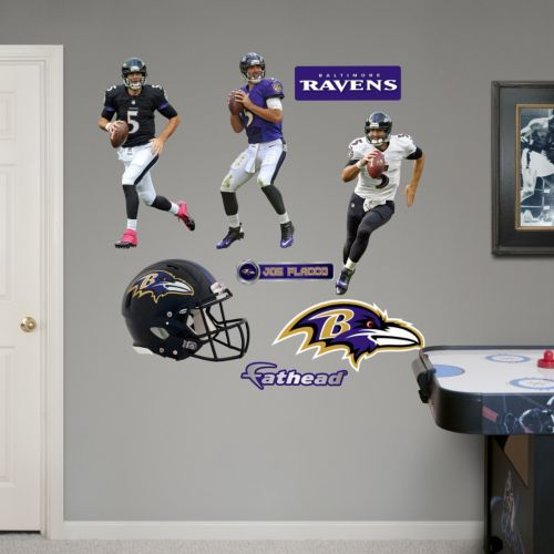 Baltimore Ravens Joe Flacco Hero Pack Wall Decals by Fathead