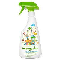 Babyganics 17-oz. Fragrance-Free Toy & High Chair Cleaner