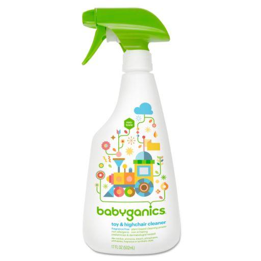Babyganics 17-oz. Fragrance-Free Toy & High Chair Cleaner