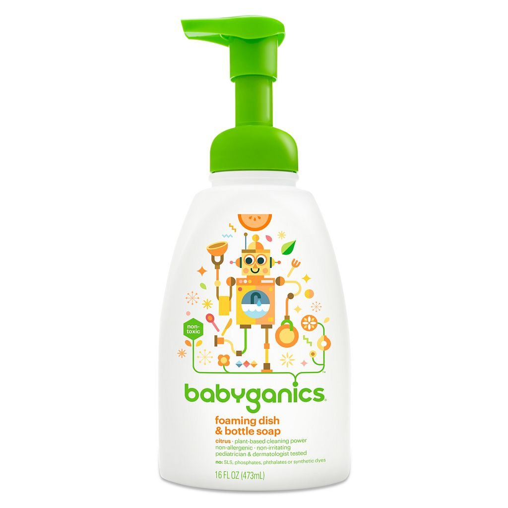 Babyganics 16-oz. Foaming Dish & Bottle Soap