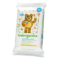 Babyganics 30-pk. Hand & Face Wipes