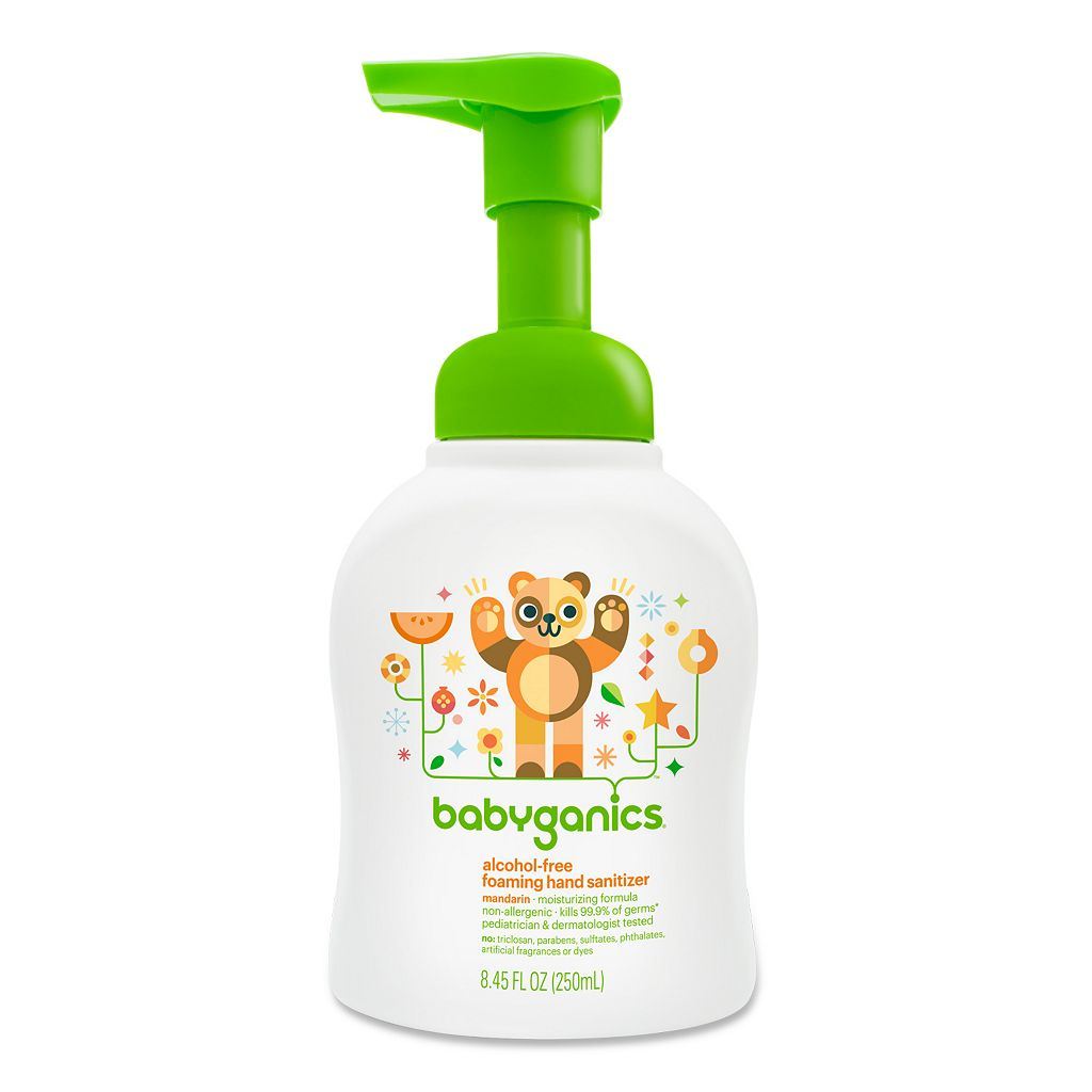 Babyganics 8.45-oz. Alcohol-Free Foaming Hand Sanitizer