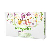 Babyganics 120-pk. Lavender Dryer Sheets