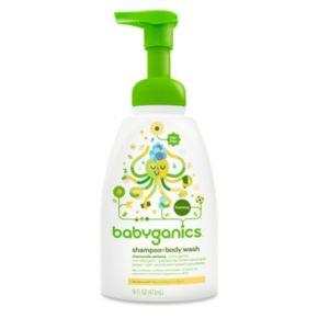 Babyganics 16-oz. Foaming Shampoo & Body Wash