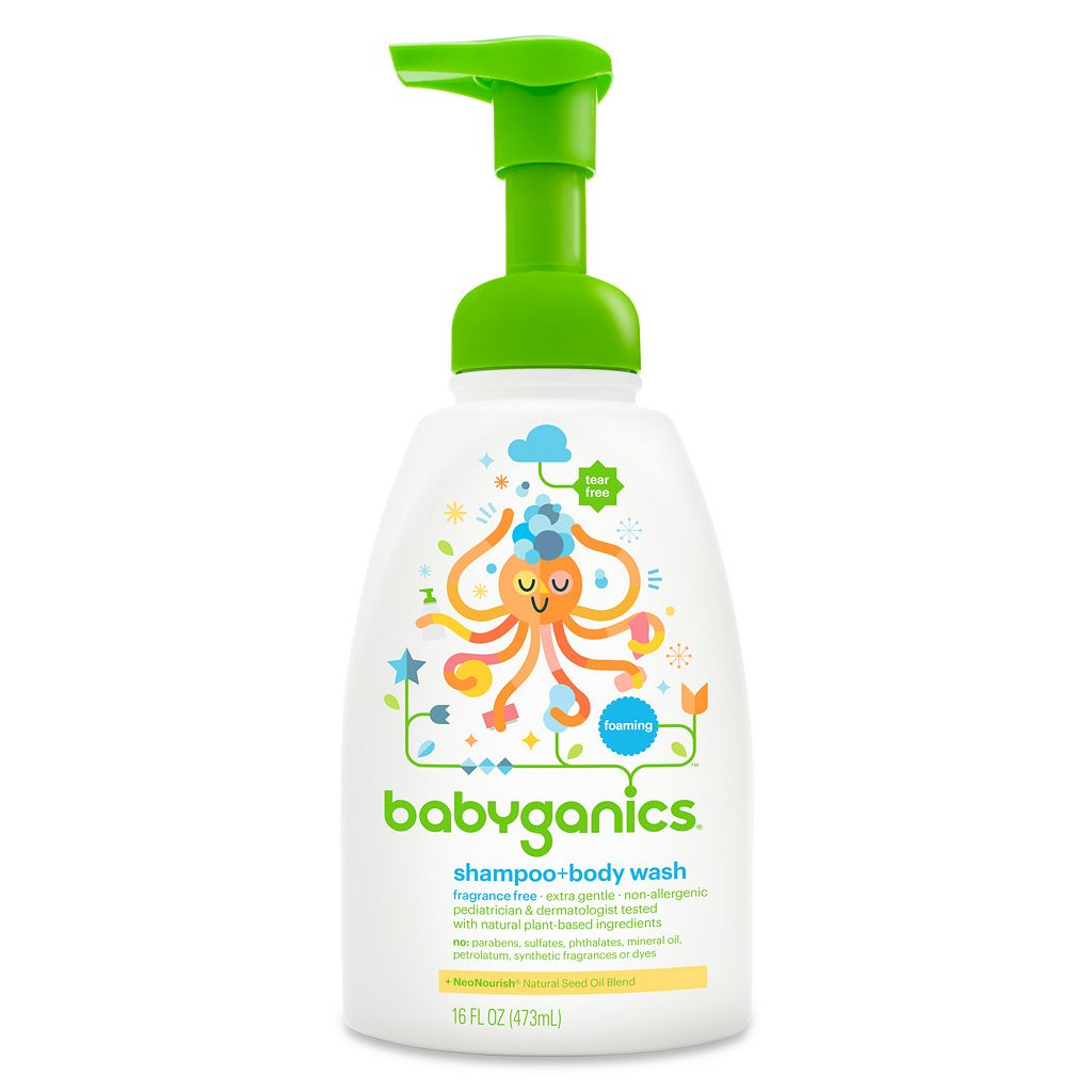 Babyganics 16-oz. Foaming Shampoo & Body Wash