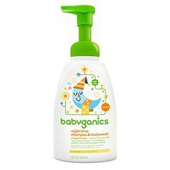 Babyganics Night Time 16-oz. Orange Blossom Shampoo & Body Wash by