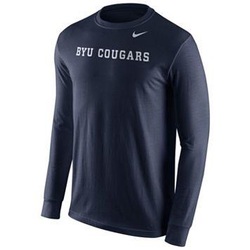Men's Nike BYU Cougars Wordmark Tee