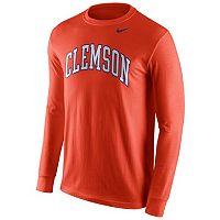 Men's Nike Clemson Tigers Wordmark Tee