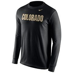 Men's Nike Colorado Buffaloes Wordmark Long-Sleeve Tee