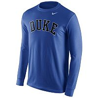 Men's Nike Duke Blue Devils Wordmark Tee