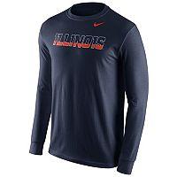 Men's Nike Illinois Fighting Illini Wordmark Tee