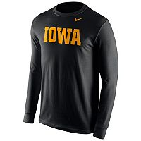 Men's Nike Iowa Hawkeyes Wordmark Tee