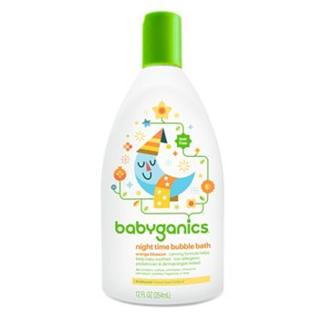 Babyganics Night Time 12-oz. Orange Blossom Bubble Bath