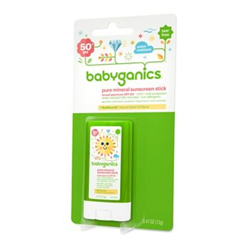 Babyganics Pure Mineral SPF 50 Sunscreen Stick