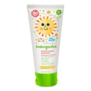 Babyganics 6-oz. Moisturizing SPF 50 Sunscreen Lotion