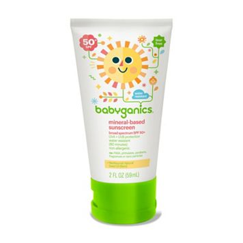 Babyganics On-the-Go 2-oz. Moisturizing SPF 50 Sunscreen Lotion