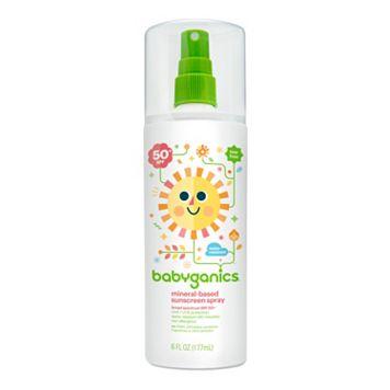 Babyganics 6-oz. Moisturizing SPF 50 Sunscreen Spray